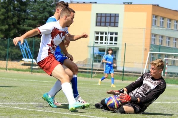 Juniorzy młodsi: MKS Iskra Pszczyna - UKS Warszowice 15.08.2021
