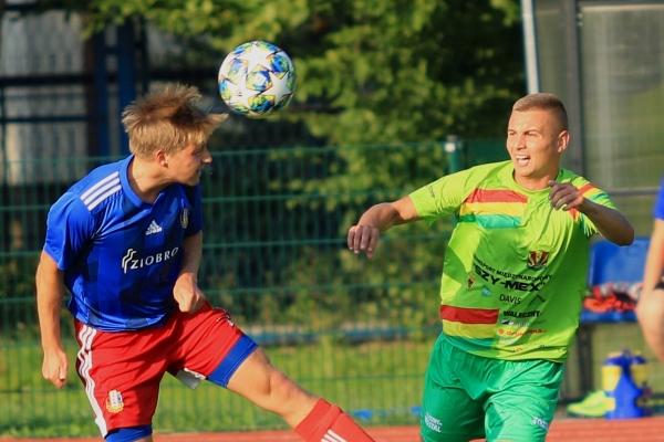 I zespół: MKS Iskra Pszczyna - BKS Stal Bielsko-Biała 25.08.20211
