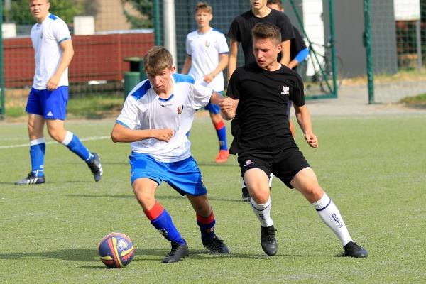 Juniorzy młodsi: MKS Iskra Pszczyna - Podbeskidzie Bielsko-Biała 22.08.2021