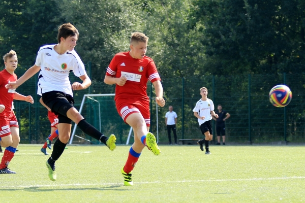 Juniorzy młodsi: MKS Iskra Pszczyna - GLKS Wilkowice 04.09.2021