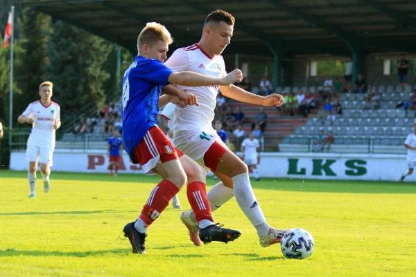I zespół: LKS Pasłojan Dankowice - MKS Iskra Pszczyna 21.08.2021