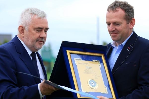 Jubileusz 70 lat MKS Iskra Pszczyna, 75 lat LKS Łąka 18.09.2021
