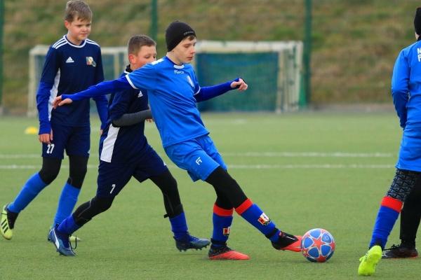 Młodzicy: MKS Iskra Pszczyna - SKS Fortuna Wyry 08.03.2021