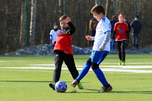 Młodzicy młodsi: MKS Iskra Pszczyna - Reprezentacja Powiatu Mikołowskiego 07.03.2021