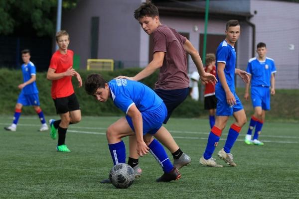 Juniorzy młodsi: SKS Gwarek Zabrze - MKS Iskra Pszczyna 28.07.2021